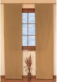 Dekoria Panel 2 sztuki Taffeta pomarańczowo-brązowy