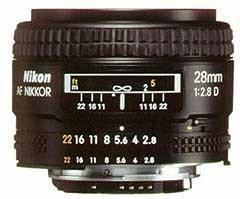 Nikon AF 28 f/2.8D
