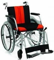 Timago Wózek inwalidzki aluminiowy (hamulec pomocniczy) TGR-R WA C2600