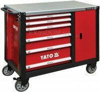 Yato szafka serwisowa wózek narzędziowy 6-szuflad YT-09002