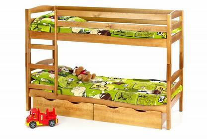 Halmar Łóżko piętrowe łóżko z materacami SAM
