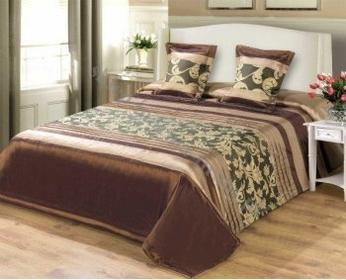 Narzuta na łóżko satynowa 220*240 wzór N/56220