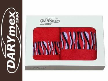 Darymex Komplet ręczników bawełnianych SIMBA 70x140+50x90 BIAŁY