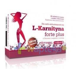 Olimp L Karnityna Forte Plus 500mg smak wiśniowy 80 szt.