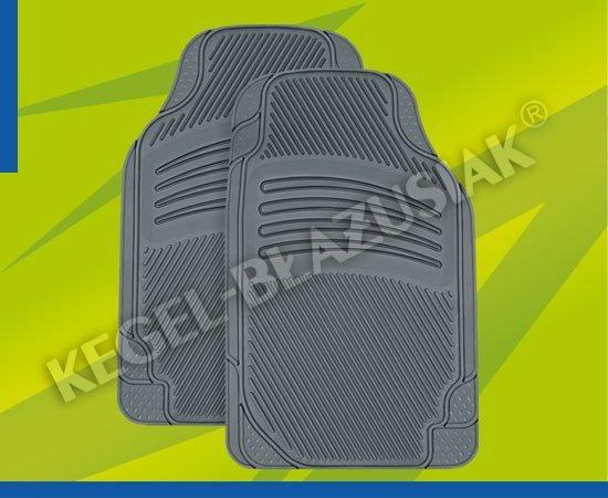 Kegel-Błażusiak & Błażusiak Dywaniki samochodowe gumowe ETNA popielate przód