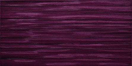 Tubądzin Domino Elida Płytka ścienna 22,3x44,8 Fioletowy 2 Poler