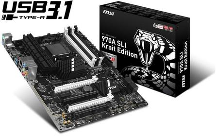 MSI 970A Krait Edition