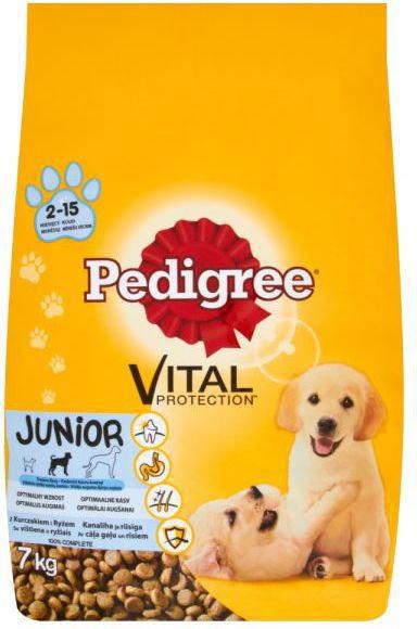 pedigree junior