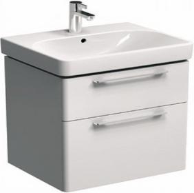 Koło Szafka pod umywalkę TRAFFIC 56,8 x 62,5 x 46,1 cm, wisząca, biały połysk 8