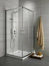 Radaway Premium Plus C 100x100 szkło przejrzyste