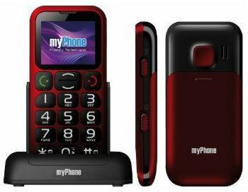 myPhone 1045R SIMPLY Czerwony