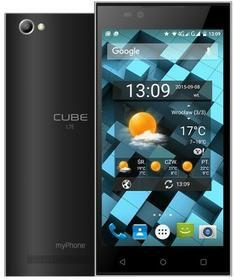 myPhone CUBE LTE Szary