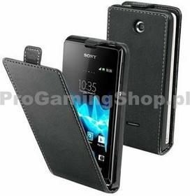 muvit Etui Xperia Flap dla Sony Xperia E - C1505 a E Dual - C1605, Black