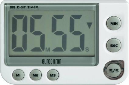 Minutnik Eurochron EDT 4000 3 czasy 99 min/59 s