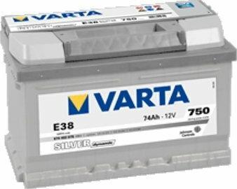 Varta Akumulator Silver Dynamic E38 74 Ah 750 A