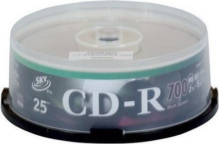 PŁYTY CD-R SKY 25 SZT