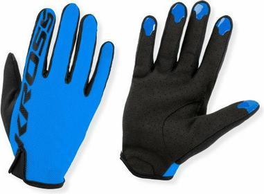 KROSS Rękawiczki rowerowe XC LITE niebieskie