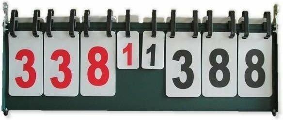 Meteor Tablica wyników do gier 1-999 pkt, 1-7 set + gwarancja zadowolenia 16001
