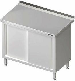 Stalgast Stół przyścienny z drzwiami suwanymi W1400xD600xH850 ( 980186140)