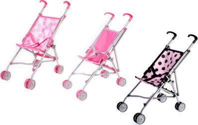 Euro-Trade Wózek dla lalek, parasolka 295129