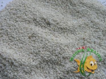 Wodna-Kraina BIAŁY PIASEK GRYS DOLOMITOWY WAPIENNY 1-2 mm 1kg