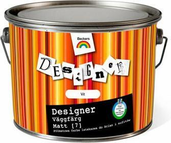 Beckers VIT- Designer Vaggfarg Matt [7] wodorozcieńczalna farba lateksowa Półmat. - 3L 7561910003