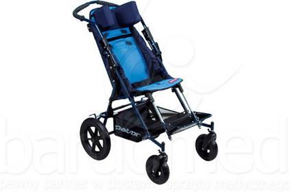 Mobilex Wózek inwalidzki dziecięcy spacerowy Patron Ben 4 Basic Maxi szer. 38