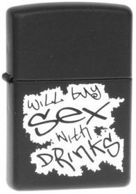 Zippo Red Hot & Rockin WLL BY DRNKS 24723