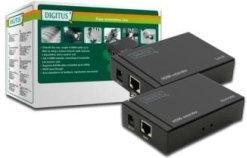 Digitus Przedłużacz wideo po RJ45 - HDMI Video Extender kat5 do 50m, 5 LGW DS-55