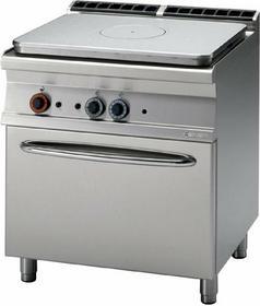 RM Gastro Kuchnia żeliwna gazowa z piekarnikiem gazowym GN 2/1 TPF - 78 G