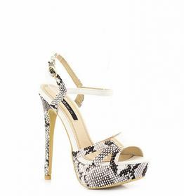 Białe sandały White Sandals Tecla biały