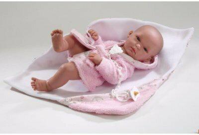 Llorens SYMAG  Lalka noworodek 2 LL-63522