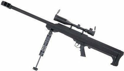Snow Wolf Barrett M99