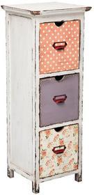 Kare Design Komoda Romantic Life - 3 szuflady