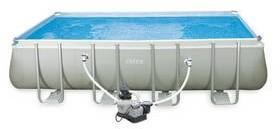 Intex Basen Frame Set Ultra Quadra I 5,49x2,74x1,32 m w tym wkład filtracyjny 5,7 m3/h i akcesoria