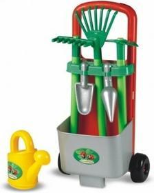 Smoby Zestaw narzędzi ogrodnika z wózkiem 329