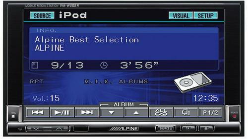 Alpine IVA-W205R