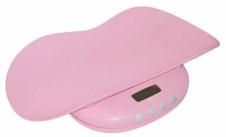 Abakus Baby Waga elektroniczna dla dzieci różowa