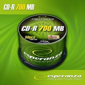 Esperanza CD-R 700MB/80MIN 52xSpeed (cake 50 szt.)