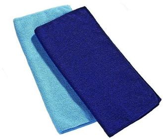 Ręcznik z mikrofibry Frotte (M - 90x50) - Cocoon - Light Blue
