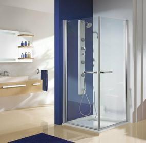 Sanplast Free Line KN2/PRIII-90 90x90 profil srebrny matowy szkło W0 600-073-0430-39-401