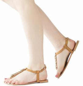 brązowy sandały Hinata