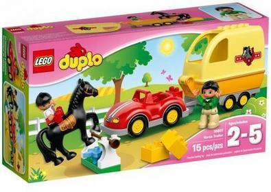 LEGO Przyczepa dla koni 10807