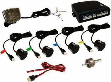 MRS, HDMI Profesionalny system parkowania z LCD (4 czujki) WiFi
