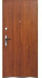 Drzwi zewnętrzne płaskie Verona 80 Prawe Złoty Dąb
