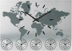 Karlsson Zegar ścienny World Time KA5069