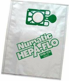 Numatic HEPA-Flo NVM-1CH - Wysokowydajny filtr, 10 szt. 604015