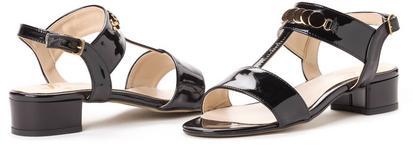 Paolo Gianni sandały damskie 38 czarny