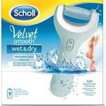 Scholl Velvet Smooth Wet & Dry Elektroniczny pilnik do stóp