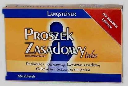 Langsteiner Proszek Zasadowy 30 szt.